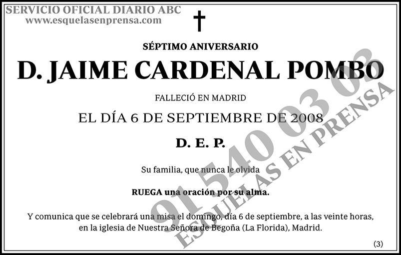Jaime Cardenal Pombo